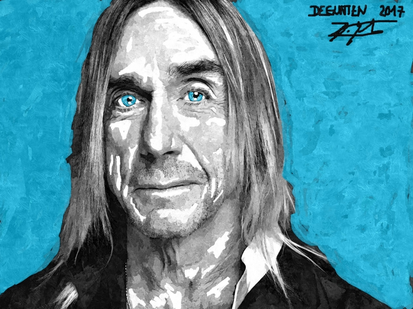 Iggy Pop by JIM